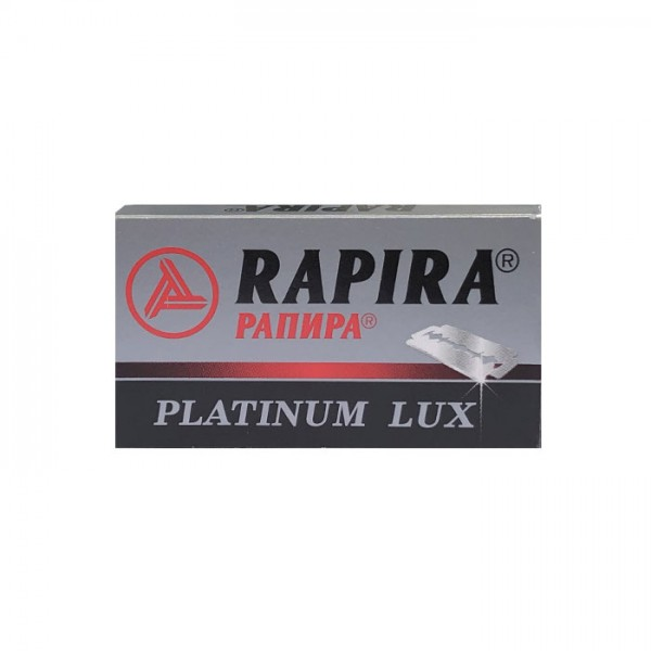 Rasierklingen Rapira Platinum Lux 5 Klingen (=1 Pkg)