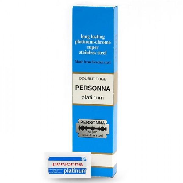 Rasierklingen Personna Platinum 200 Stk (=20 Pkg)