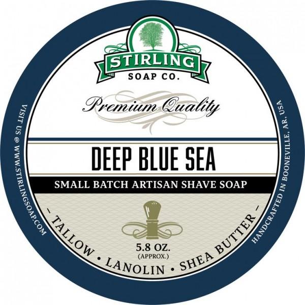 Stirling Soap Company - Rasierseife Deep Blue Sea 170 ml
