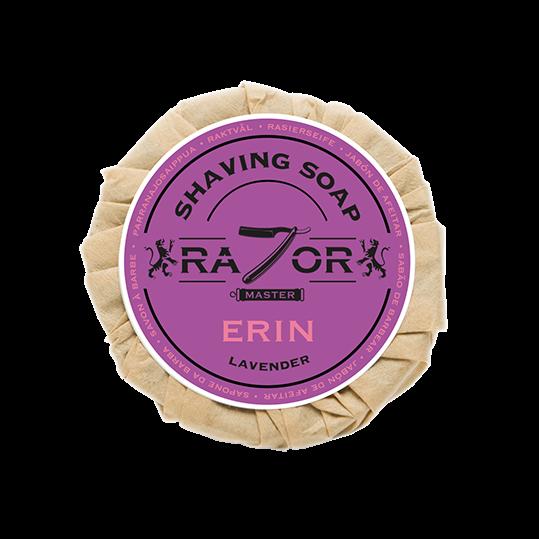Razor Master Rasierseife 80g Duft: ERIN (Lavendel)