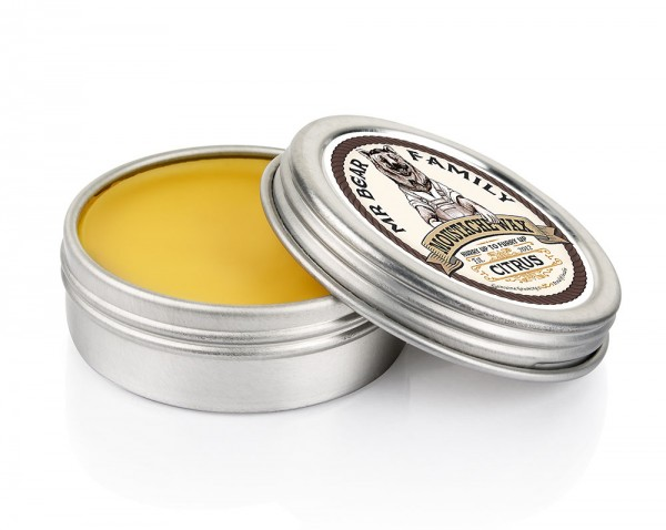Mr Bear Family Moustache Wax (Bartwichse) 30 ml - Duft: Citrus