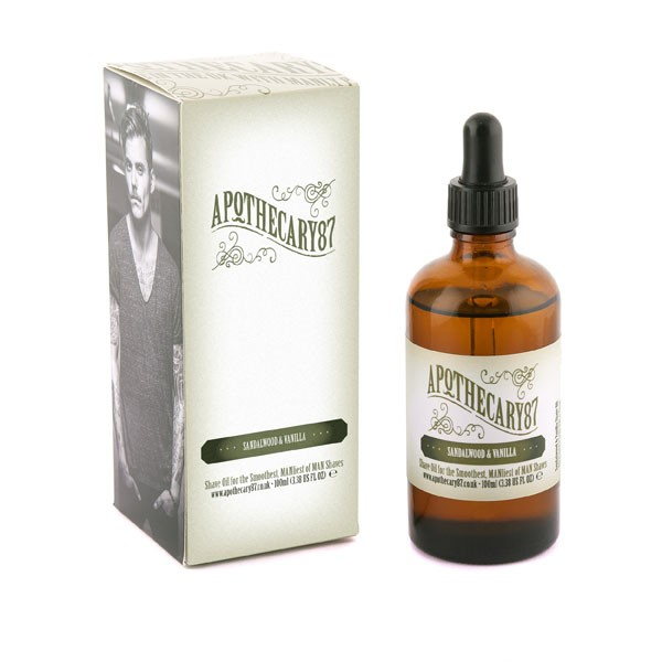 Apothecary87 - The Smooth Moving Shave Oil - Rasieröl 100 ml