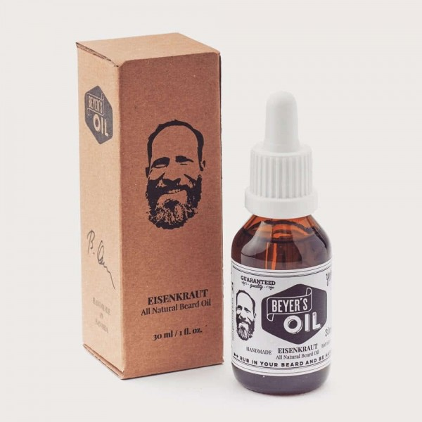 Beyer's Oil Bartöl Eisenkraut 30 ml