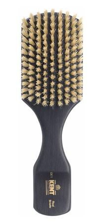 Kent Haarbürste OE1 handbearbeitet, mit weißen Naturborsten