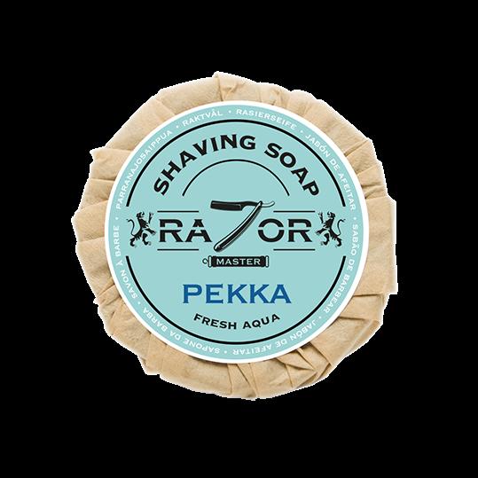 Razor Master Rasierseife 80g Duft: PEKKA (Fresh Aqua)