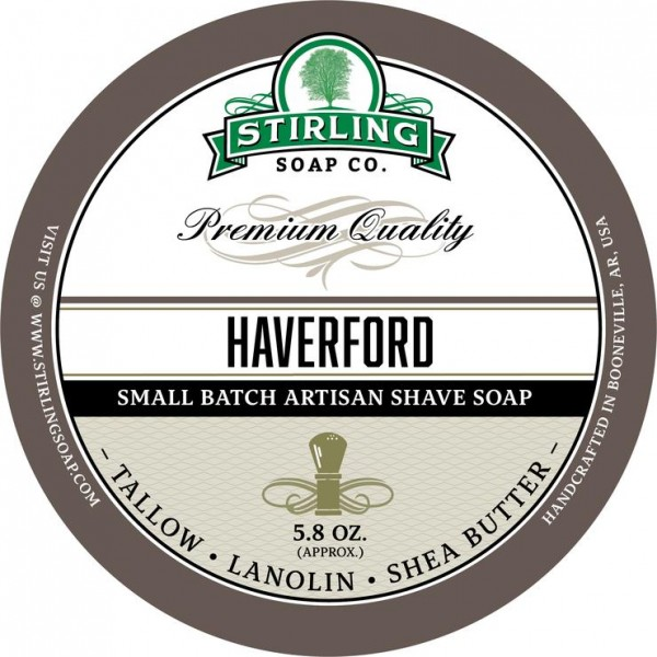Stirling Soap Company - Rasierseife Haverford 170 ml