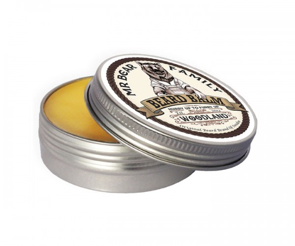 Mr Bear Family Beard Balm (Bart Balsam) 60 ml - Duft: Woodland