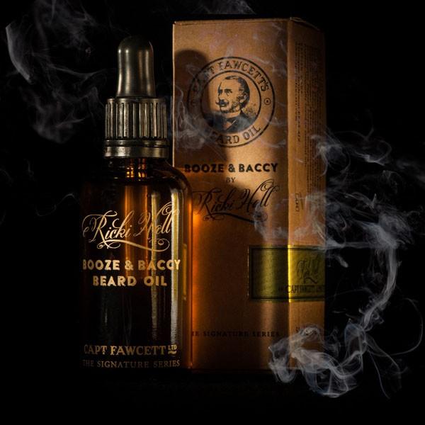 Captain Fawcett - Beard Oil (Bartöl) - Ricki Hall Booze & Baccy