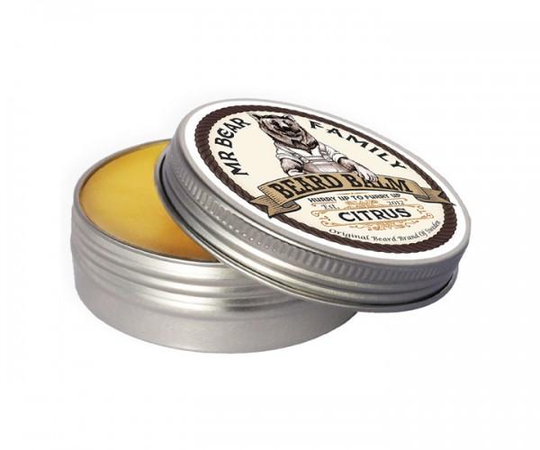 Mr Bear Family Beard Balm (Bart Balsam) 60 ml - Duft: Citrus