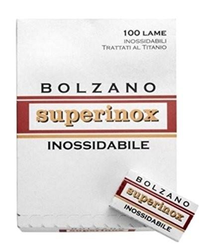 Rasierklingen Bolzano superinox 100 Stk (=20 Pkg)