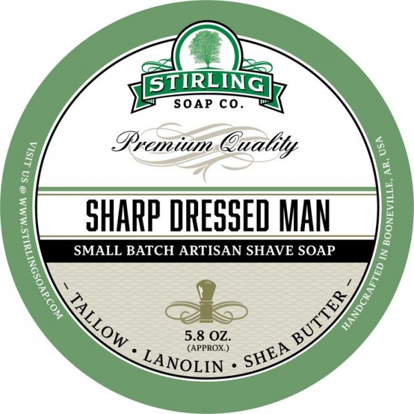 Stirling Soap Company - Rasierseife Sharp Dressed Man 170 ml
