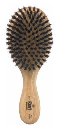 Kent Haarbürste OG1 handbearbeitet, mit schwarzen Naturborsten