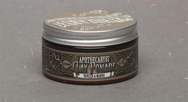 Apothecary87 - CLAY Pomade VANILLA & MANGO 100 ml
