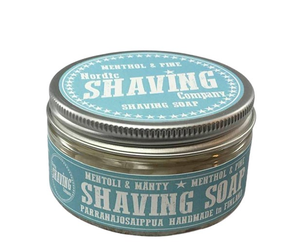 Nordic Shaving Rasierseife 80g - Duft: Menthol & Pine