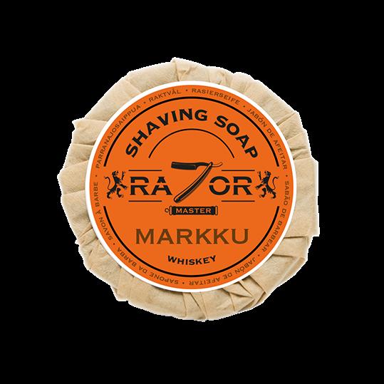 Razor Master Rasierseife 80g Duft: MARKKU (Whiskey)