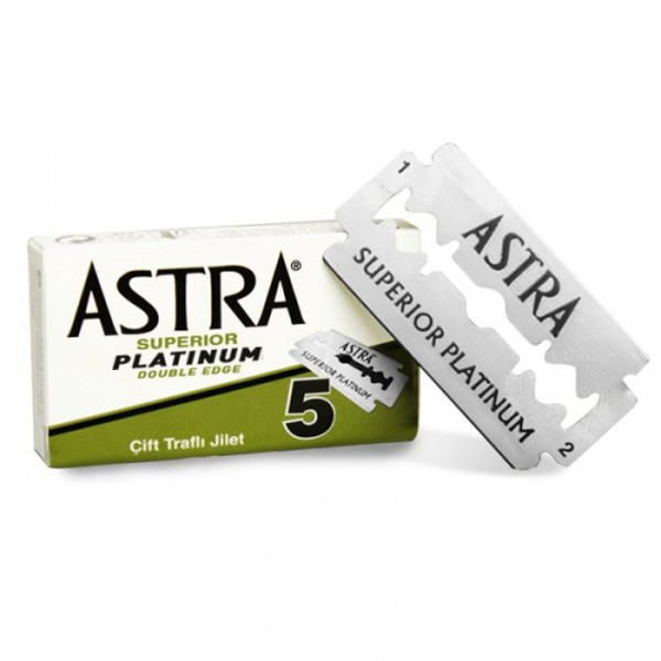 Rasierklingen Astra Superior Platinum 5 Klingen (=1 Pkg)