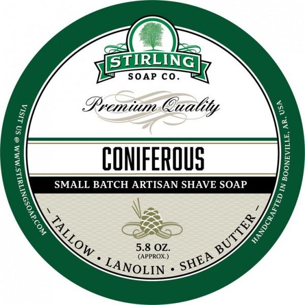 Stirling Soap Company - Rasierseife Coniferous 170 ml