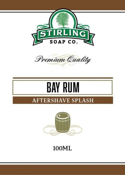 Stirling Soap Company - Aftershave Splash Bay Rum 100 ml