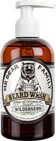Mr Bear Family Beard Wash (Bartseife) 250 ml - Duft: Wilderness