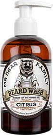 Mr Bear Family Beard Wash (Bartseife) 250 ml - Duft: Citrus