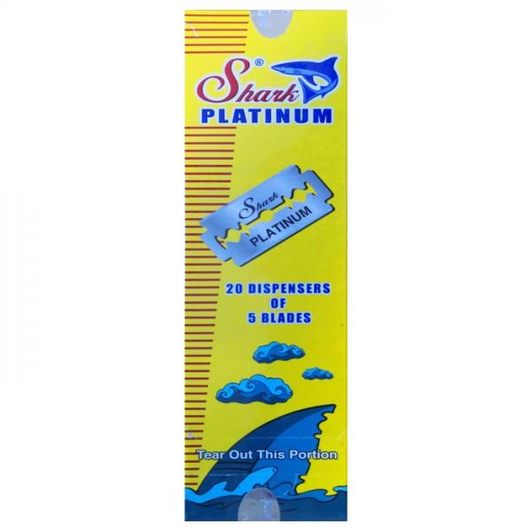 Rasierklingen Shark Platinum 100 Klingen (=20 Pkg)