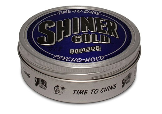 Shiner Gold PSYCHO HOLD Pomade 118 ml