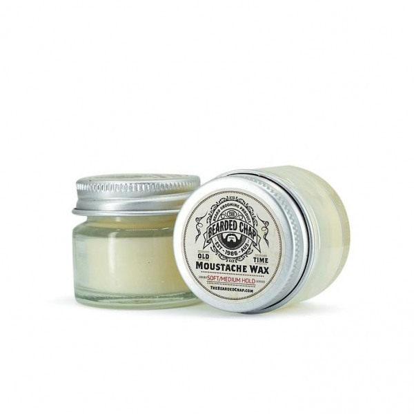 The Bearded Chap – Moustache Wax soft/medium Hold 20g