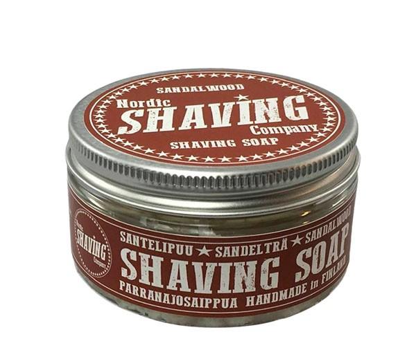 Nordic Shaving Rasierseife 80g - Duft: Sandalwood