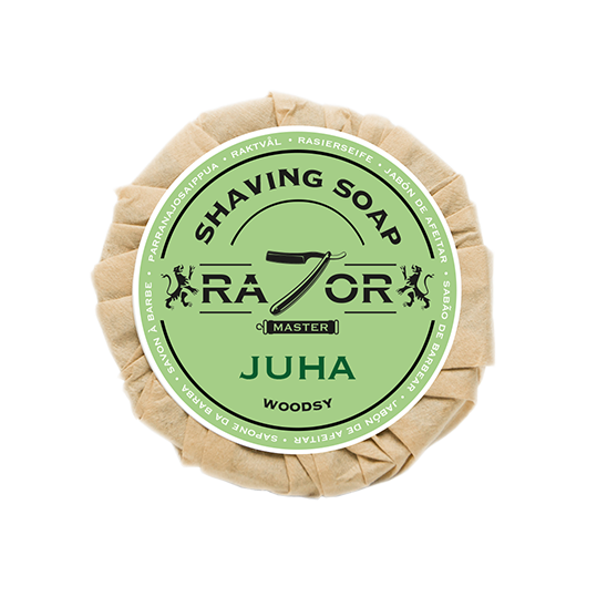 Razor Master Rasierseife 80g Duft: JUHA (exotisch holzig)