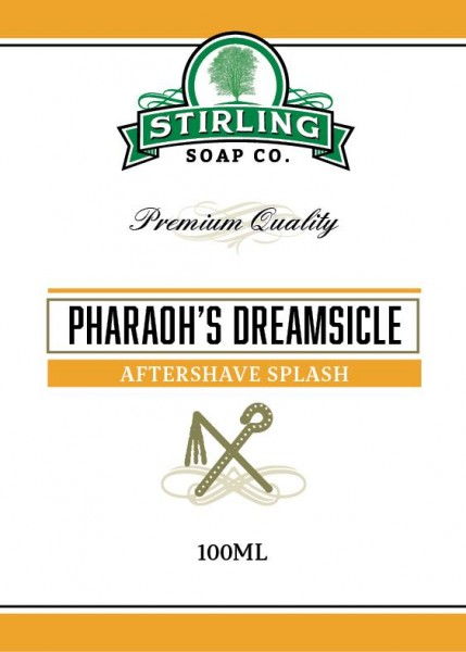 Stirling Soap Company - Aftershave Splash Pharaoh's Dreamsicle 100 ml