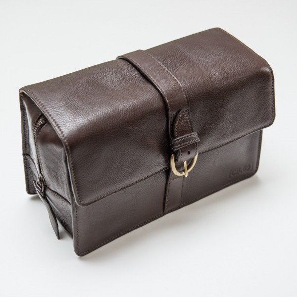 Captain Fawcett - Leather Washbag (CF.65)