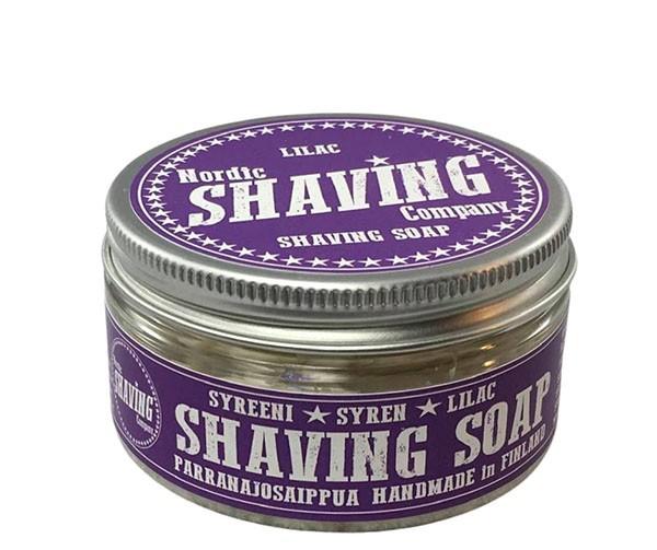 Nordic Shaving Rasierseife 80g - Duft: Lilac