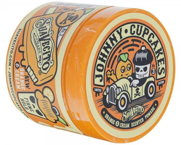 Suavecito Pomade X Johnny Orange & Cream Cupcakes Firme Hold 113g