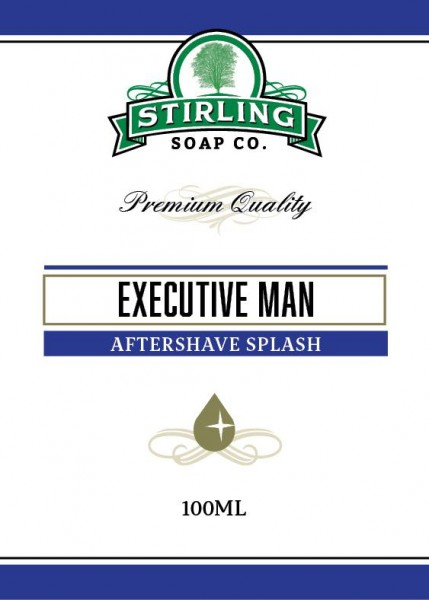 Stirling Soap Company - Aftershave Splash Executive Man 100 ml
