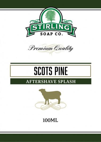 Stirling Soap Company - Aftershave Splash Scots Pine 100 ml