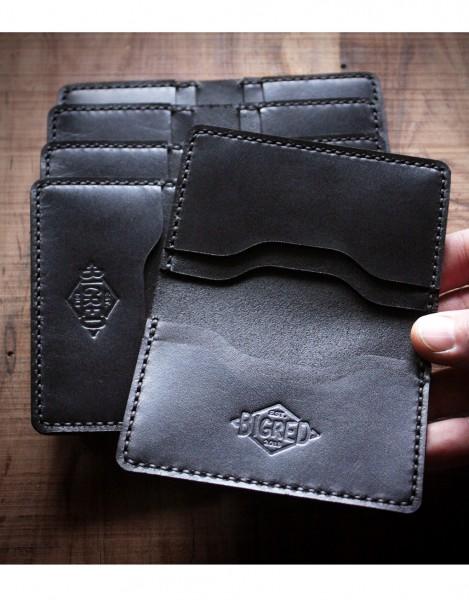 Big Red Bi-Fold Wallet / Brieftasche - Farbe: Schwarz