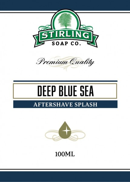 Stirling Soap Company - Aftershave Splash Deep Blue Sea 100 ml