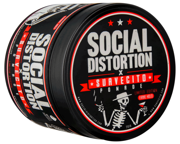 Suavecito Pomade X Social Distortion Firme Hold (starker Halt) 113g