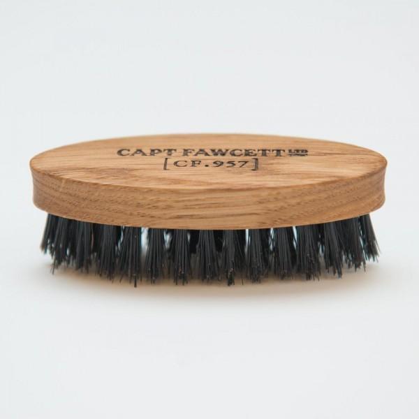 Captain Fawcett - Moustache-Bartbürste mit 100% Naturborsten (CF.957)