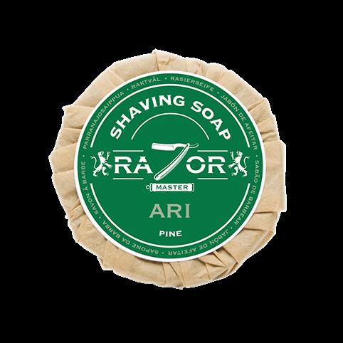 Razor Master Rasierseife 80g Duft: ARI (Kiefern)