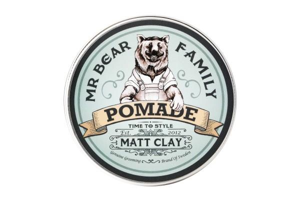 Mr Bear Family Matt Clay Pomade 100 ml