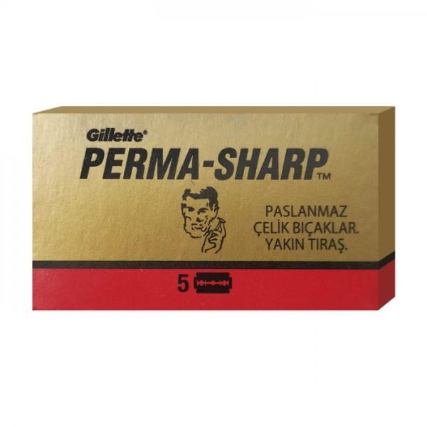 Rasierklingen Perma-Sharp 5 Stk (=1 Pkg)
