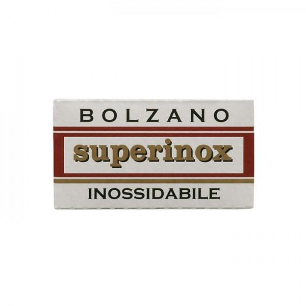 Rasierklingen Bolzano superinox 5 Stk (=1 Pkg)