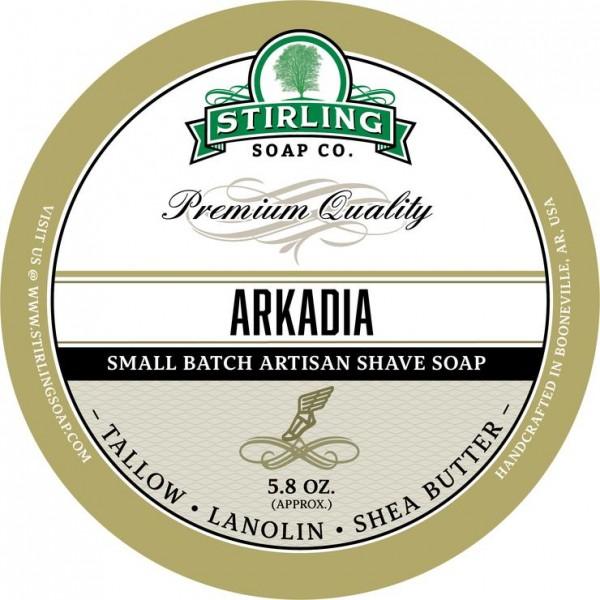 Stirling Soap Company - Rasierseife Arkadia 170 ml