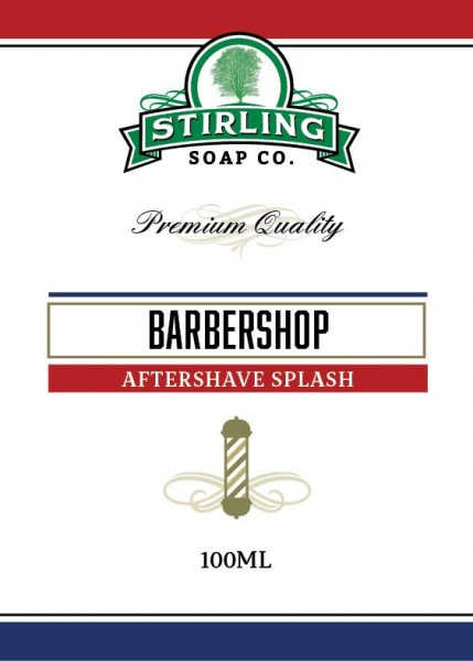 Stirling Soap Company - Aftershave Splash Barbershop 100 ml