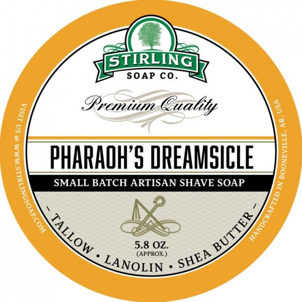 Stirling Soap Company - Rasierseife Pharaoh's Dreamsicle 170 ml