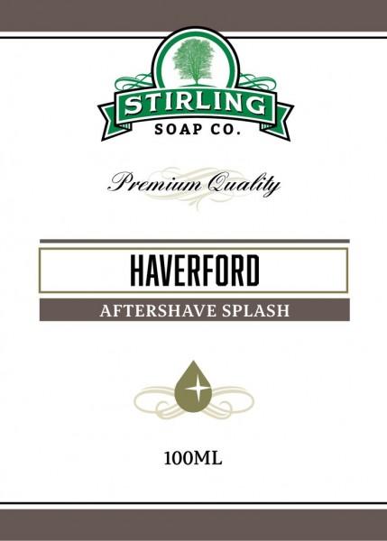 Stirling Soap Company - Aftershave Splash Haverford 100 ml