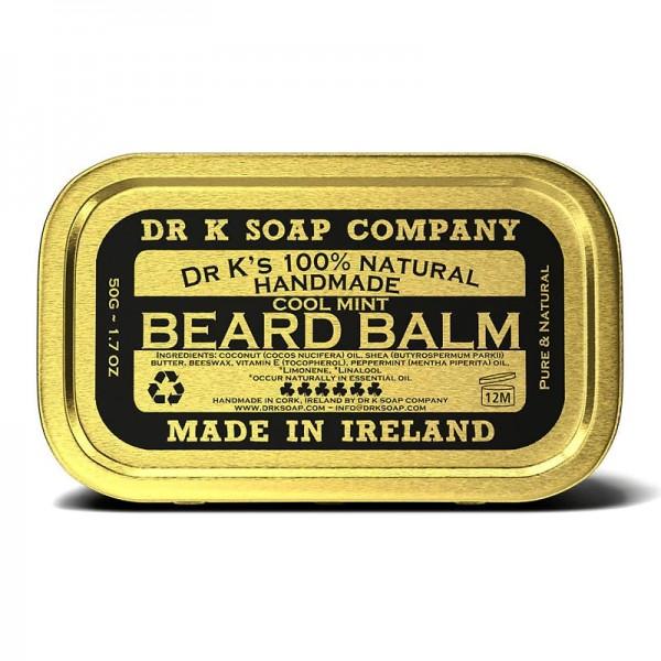 Dr K Beard Balm COOL MINT - Bartbalsam 50g