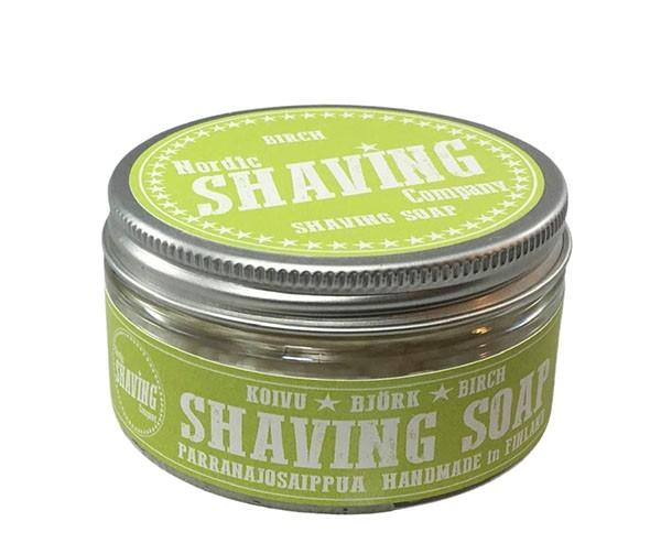 Nordic Shaving Rasierseife 80g - Duft: Birch