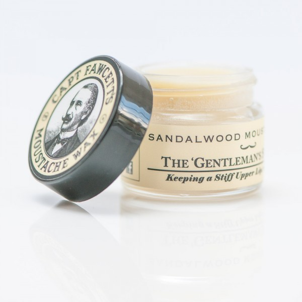 Captain Fawcett - Moustache Wax (Bartwichse) - Sandalwood 15 ml